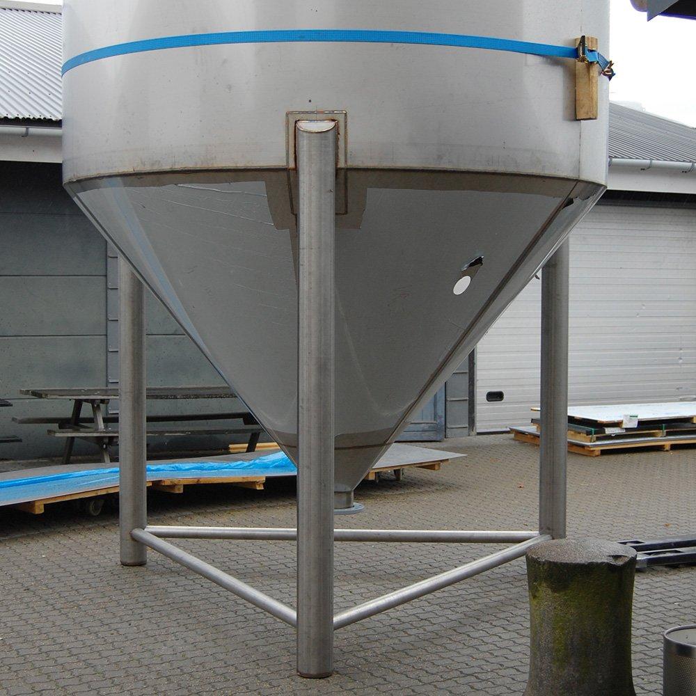 Rustfri stål silo