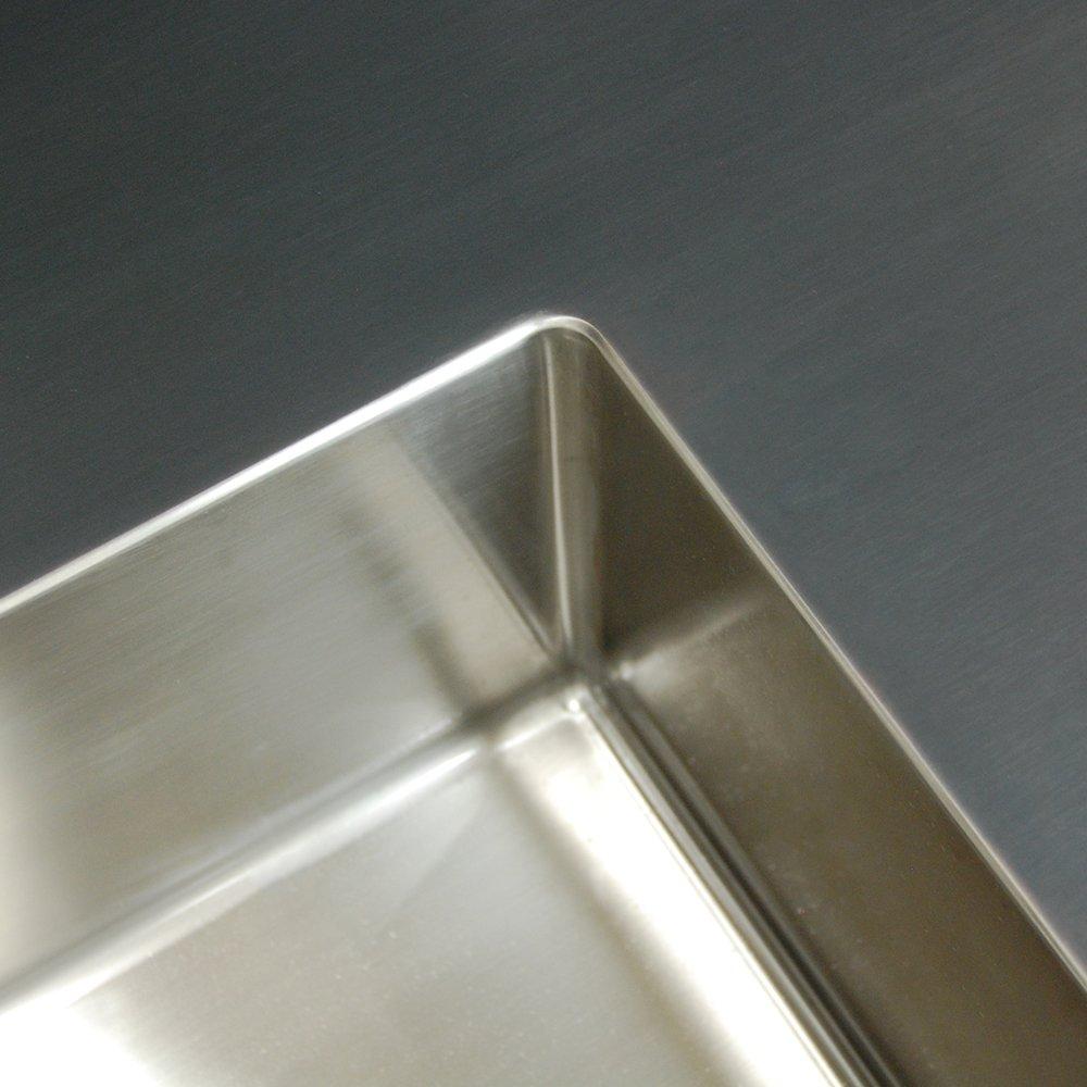 Sortbejdset bordplade